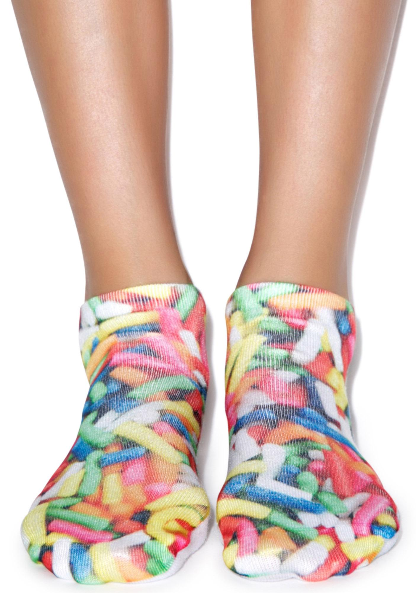 Sprinkles On Top Ankle Socks