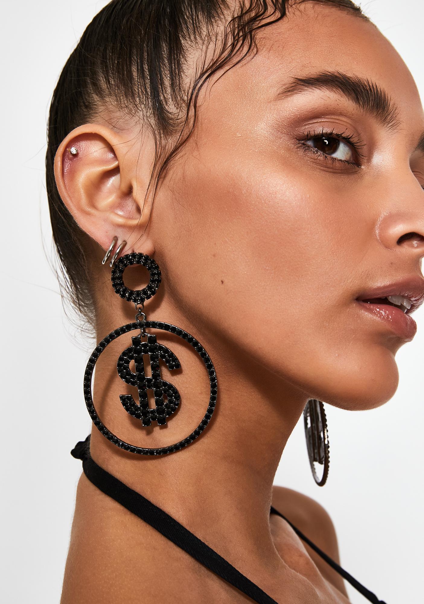 Hawt Commodity Hoop Earrings