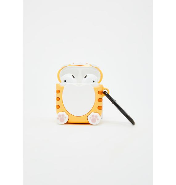 Wait A Meow-ment Kitty Airpods Case