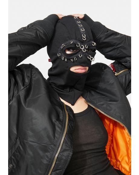 Dominix Ponytail Ski Mask