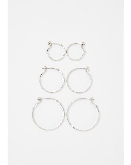 Loop Me In Earring Set