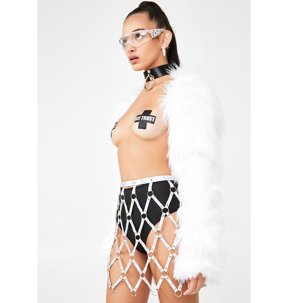 Club Exx Galactic Mistress Cage Skirt