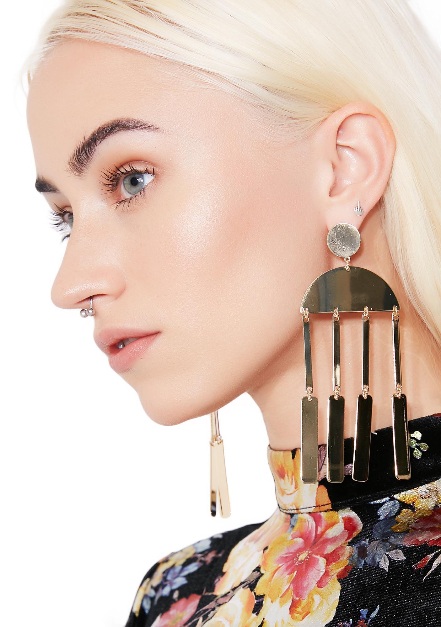Major Key Dangly Earrings