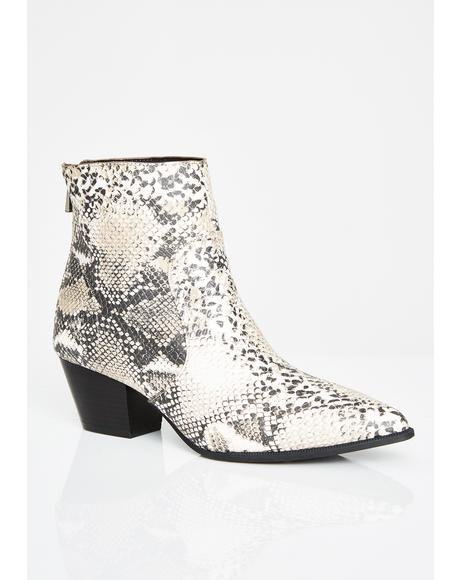 Poisoned Coven House Ankle Booties