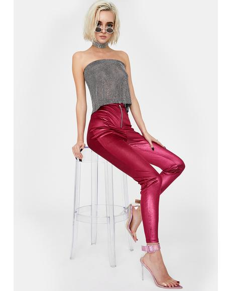 Hyper Metallic Pants