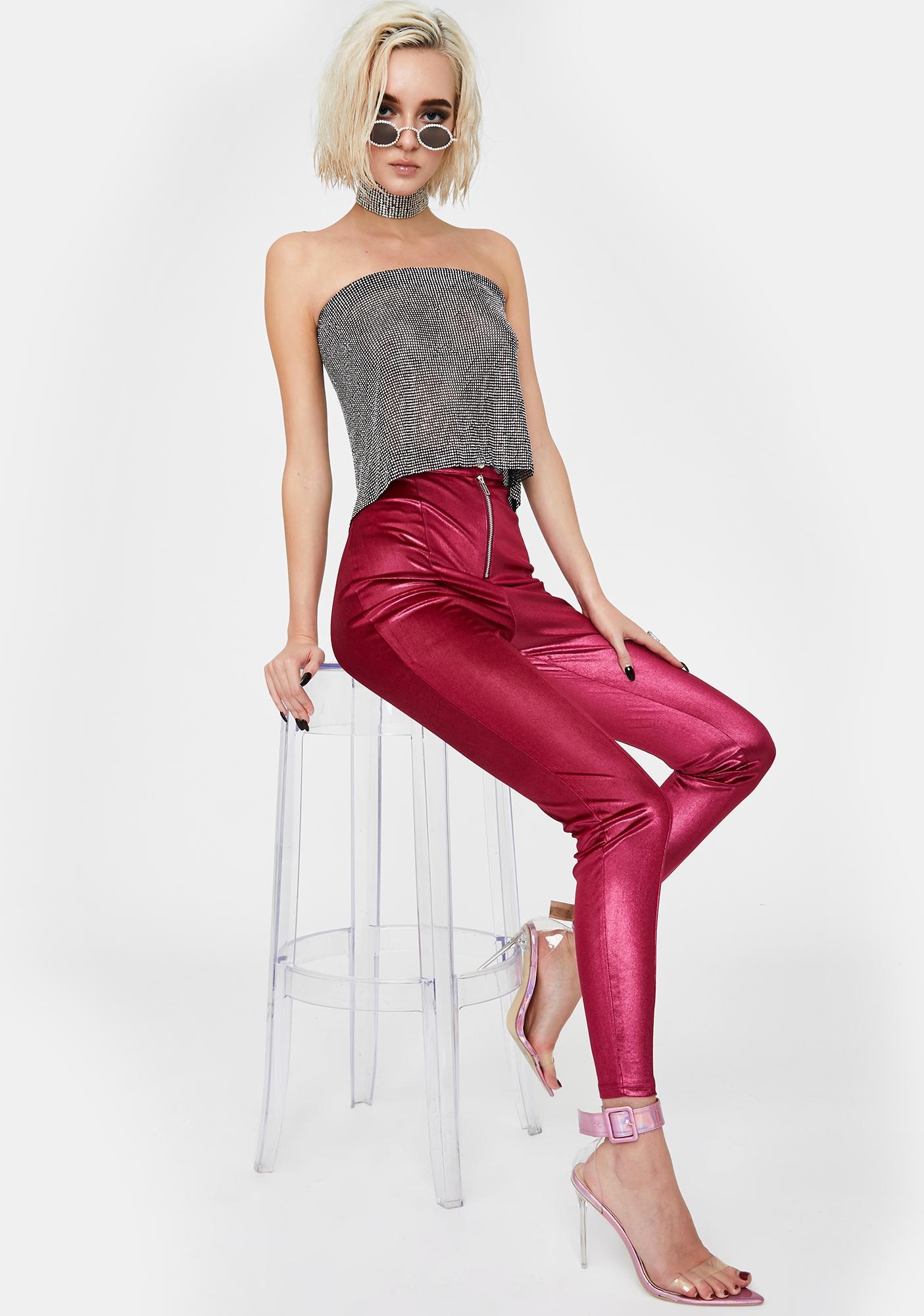 Twiin Hyper Metallic Pants