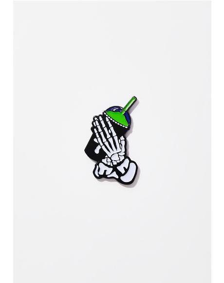 Slushgod Bones Pin