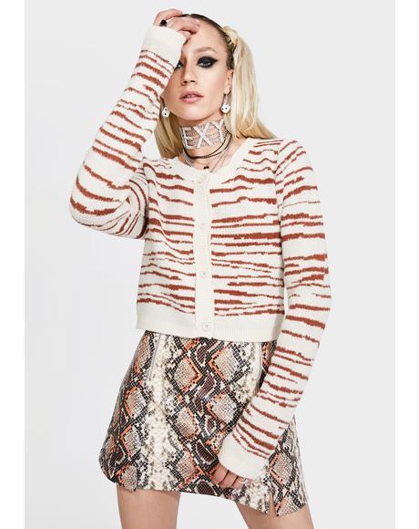 Dannie Crop Sweater