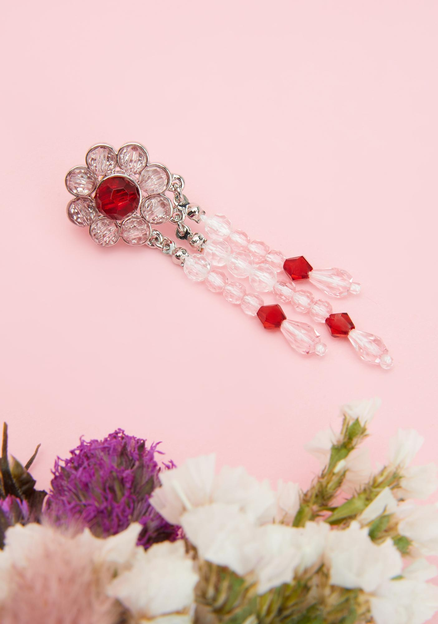 Flower Your Expectations Drop Earrings