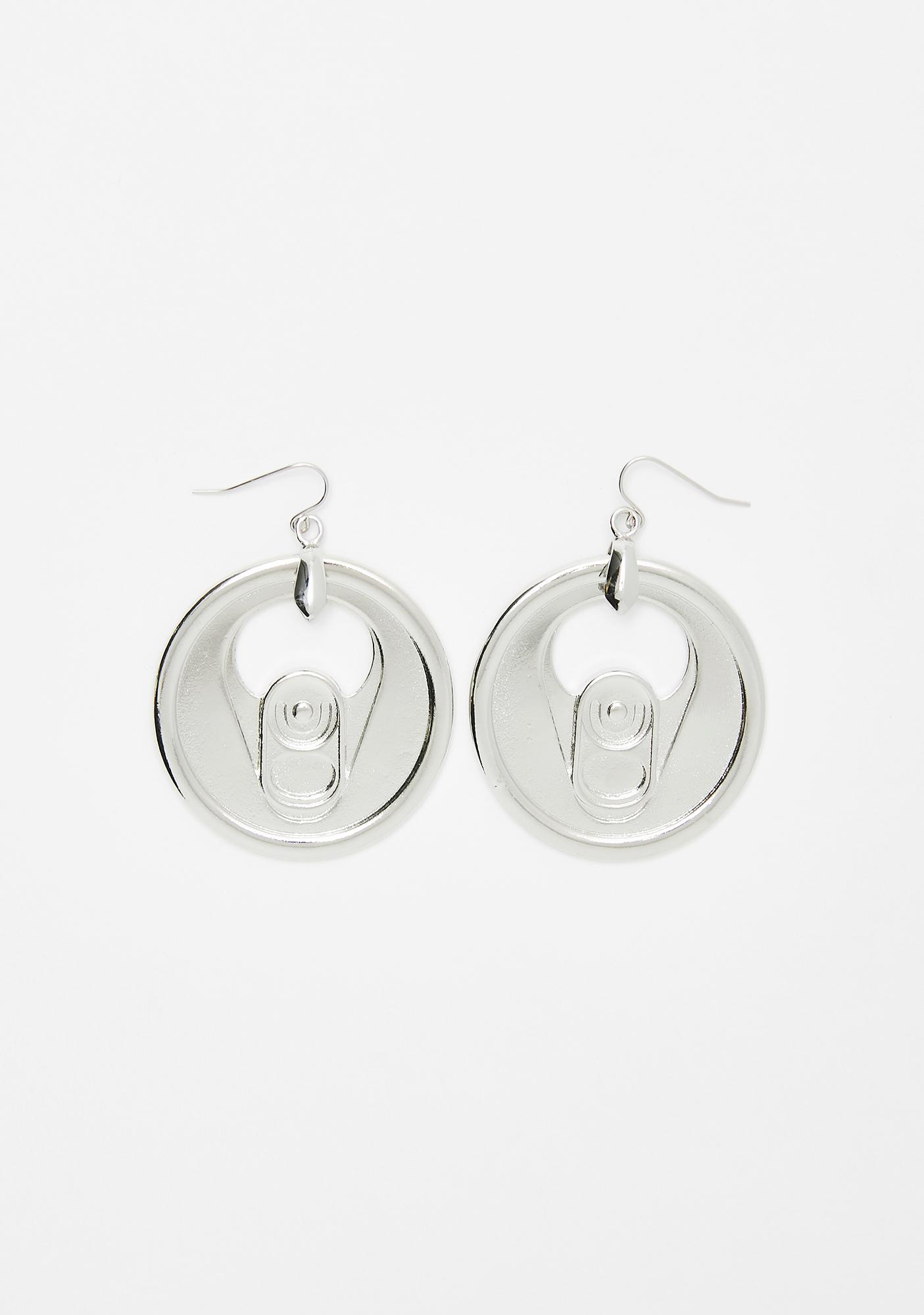 Thirsty Much Soda Can Earrings
