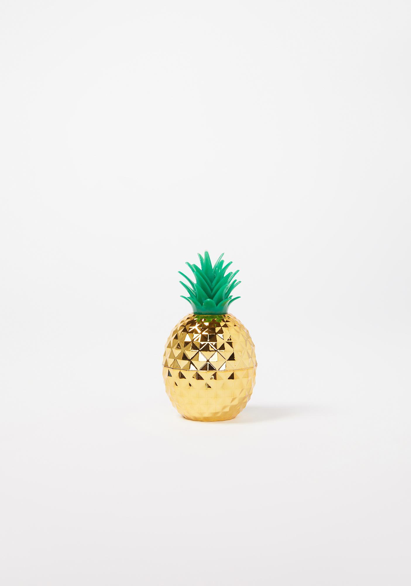 Taste Beauty Spongebob Molded Pineapple Lip Gloss