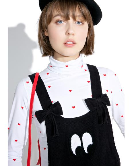 Bow Tie Eyeball Pinafore