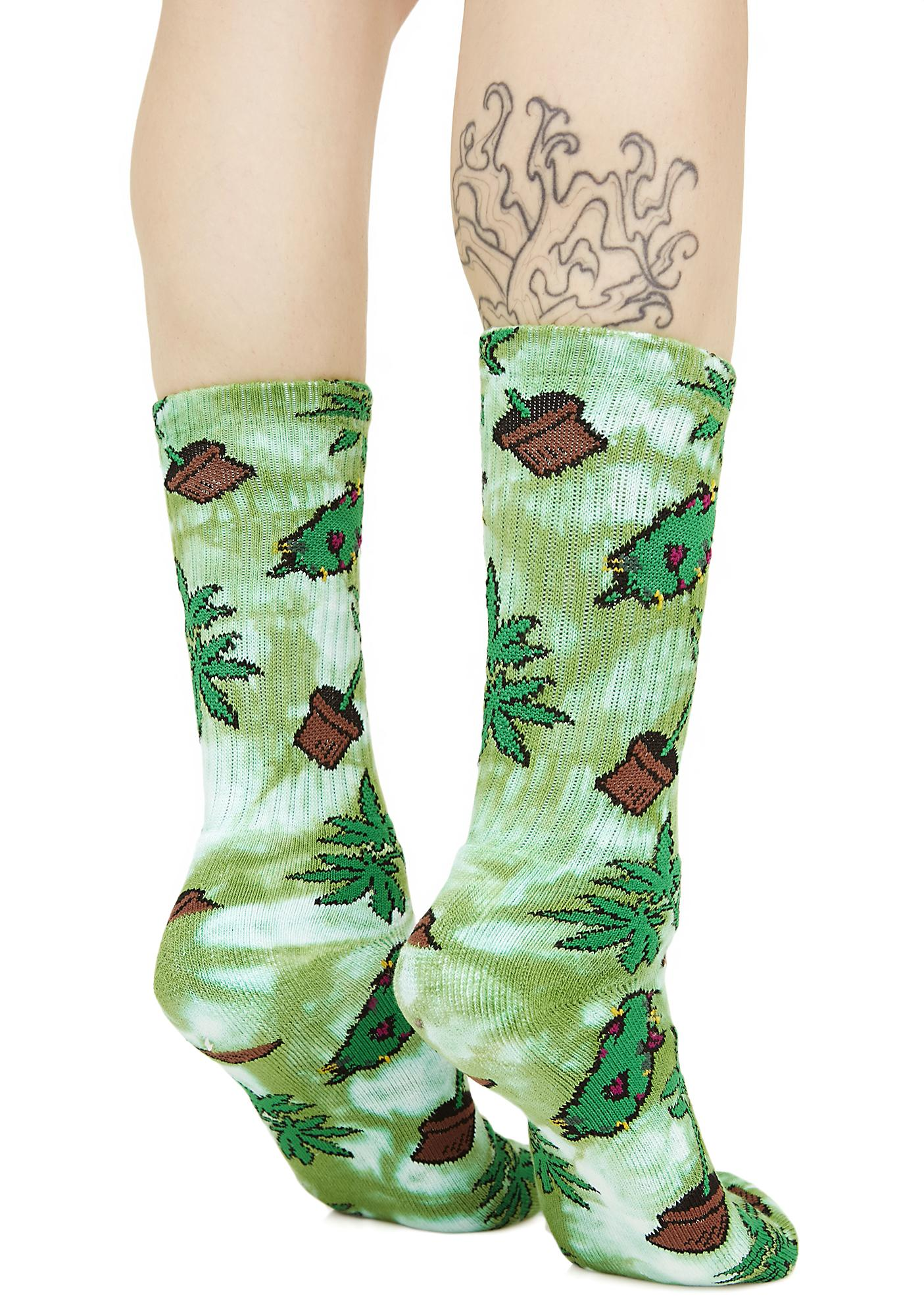 HUF Bud Crew Socks