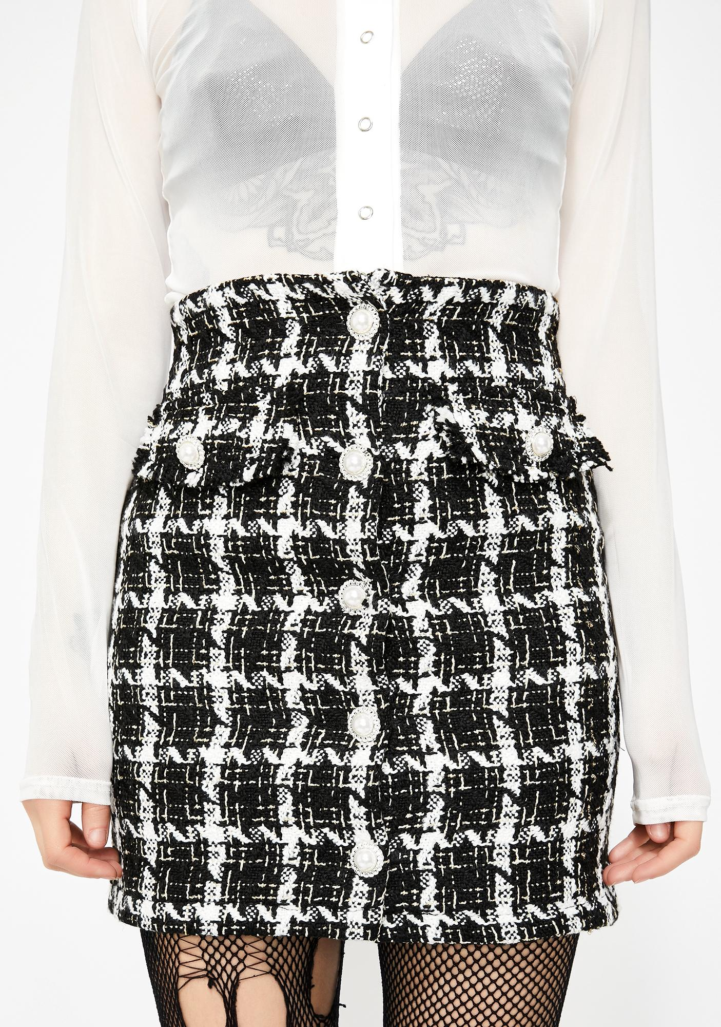 Capital Couture Tweed Skirt by