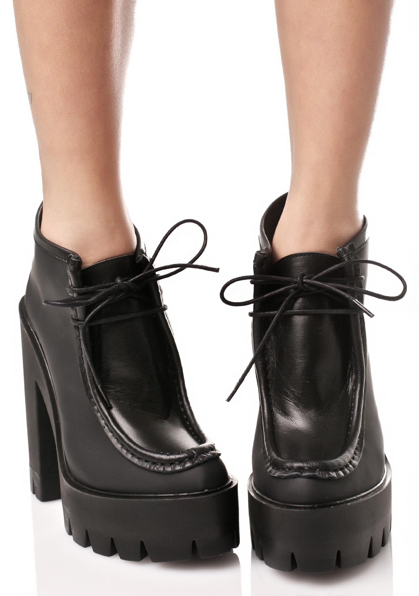 Stiù Daisy Platform Booties