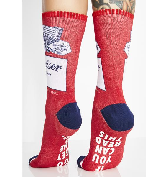 HUF This Buds For You Crew Socks