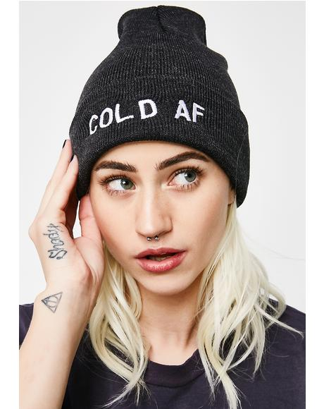 Cold AF Beanie