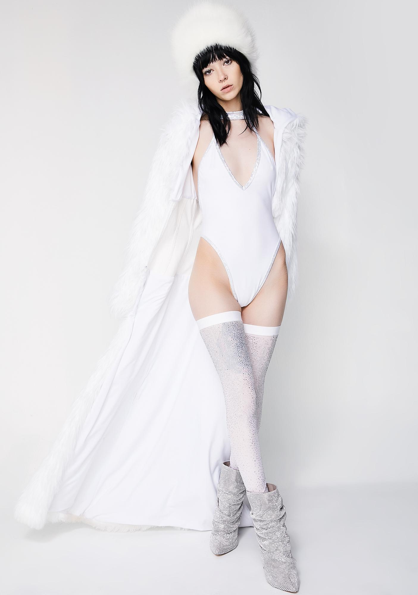 J Valentine Ice Queen Choker Bodysuit