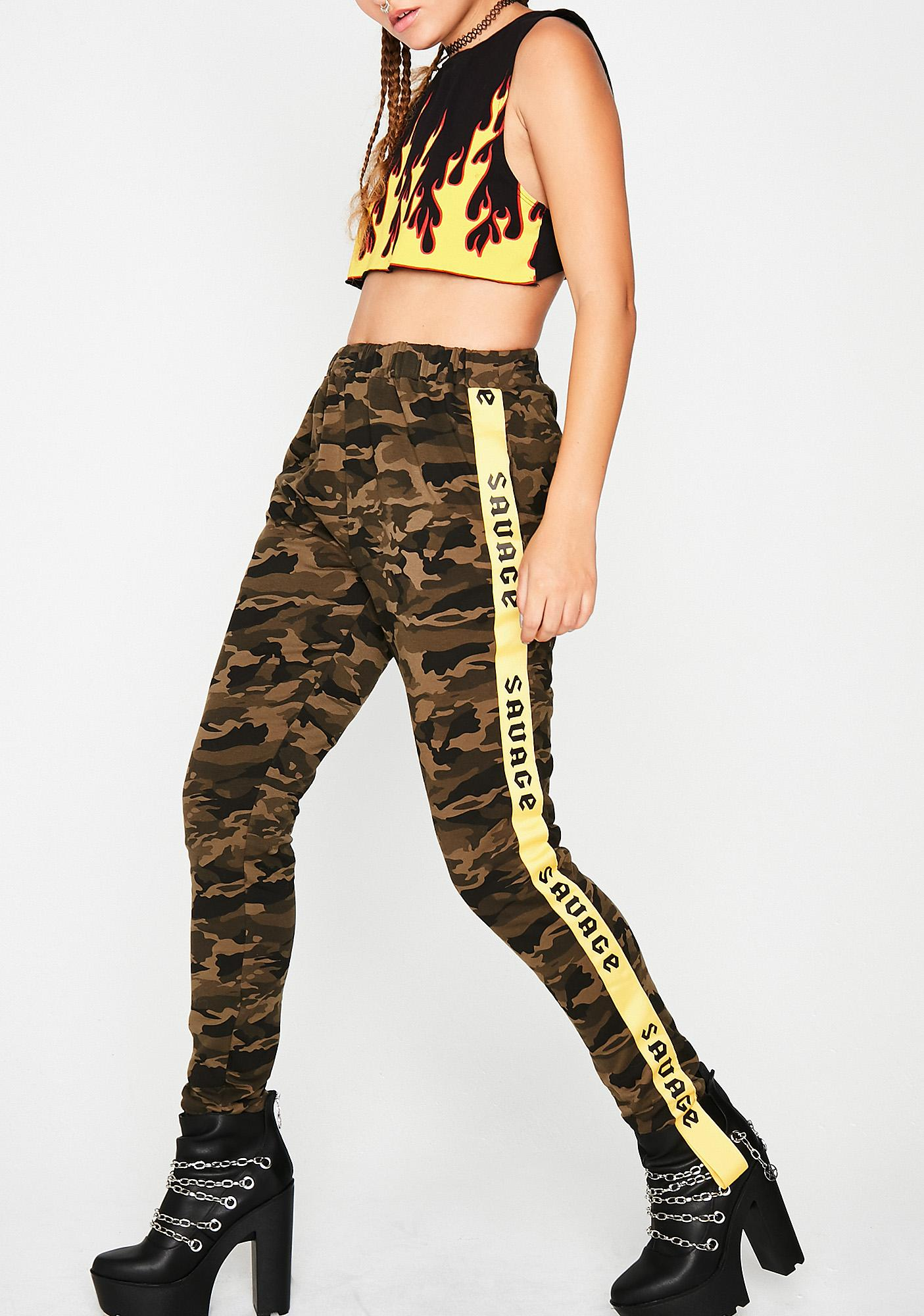 Savage Ways Camo Pants