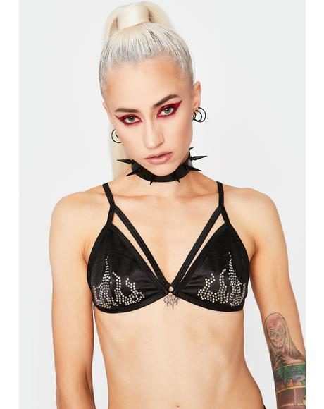 Winning Heat Strappy Bra