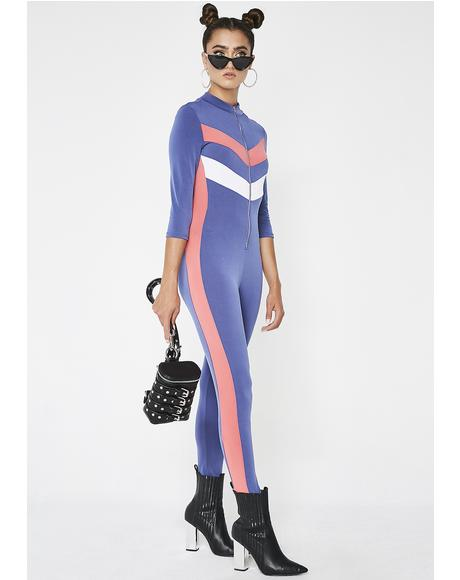 Star Playa Colorblock Catsuit