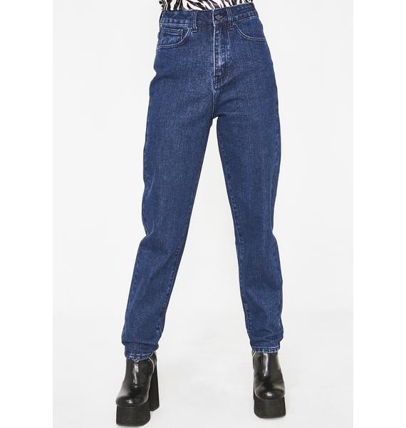 Lazy Oaf LO Blue Jeans