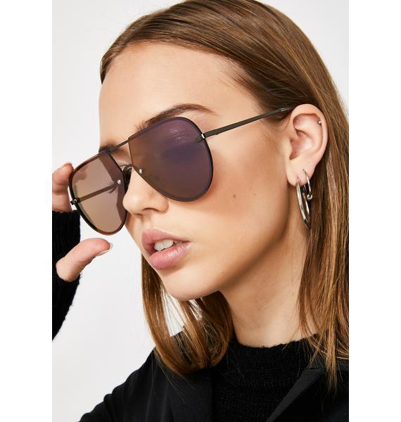 Got The Message Aviator Sunglasses