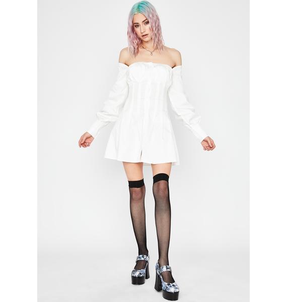 Current Mood Love Interest Long Sleeve Dress