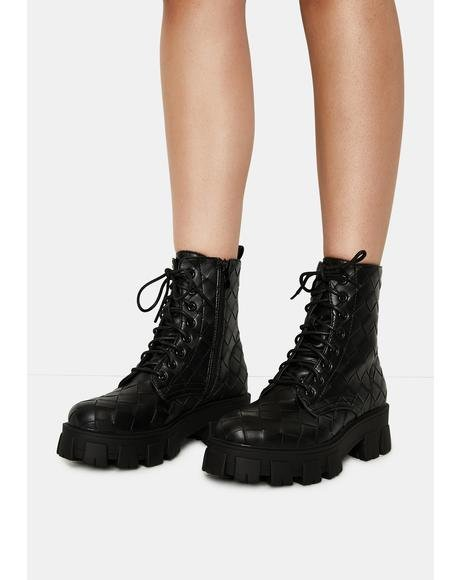 Excessive Emotions Ankle Boots