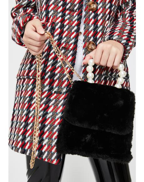 If You Fancy Fuzzy Handbag
