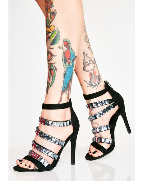 Glammed Up Strappy Heels