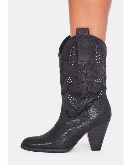 Nightbloom Cowboy Boots