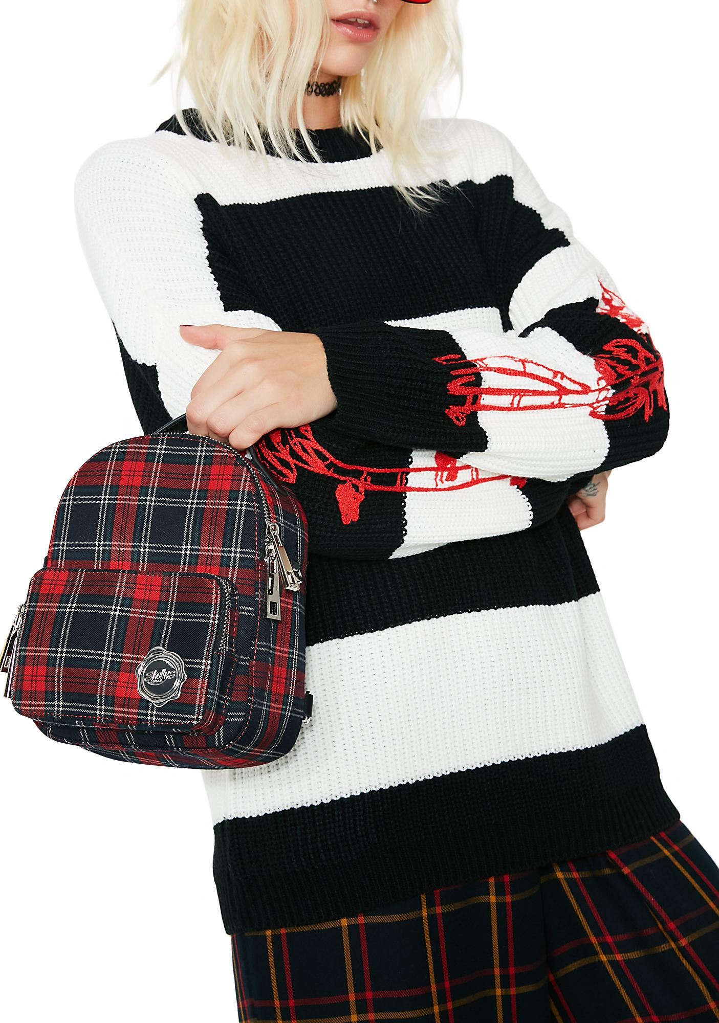 Shellys London Plaid Cooper Mini Backpack