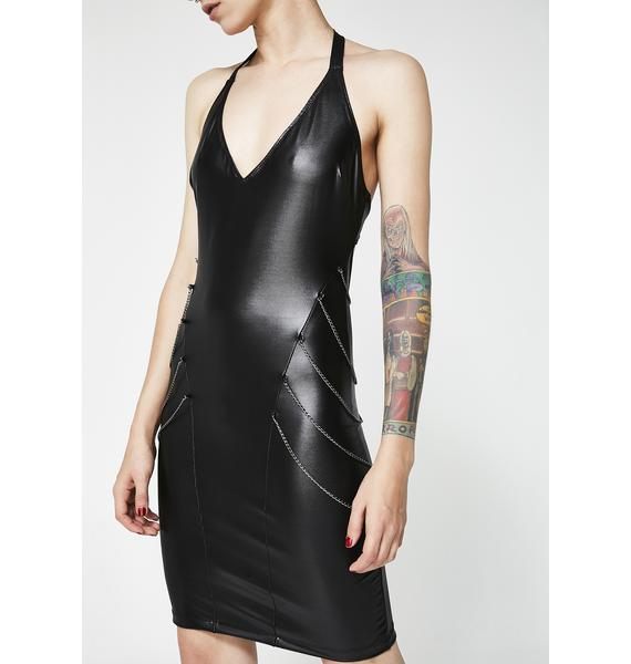 Kiki Riki Kink Kween Chain Dress