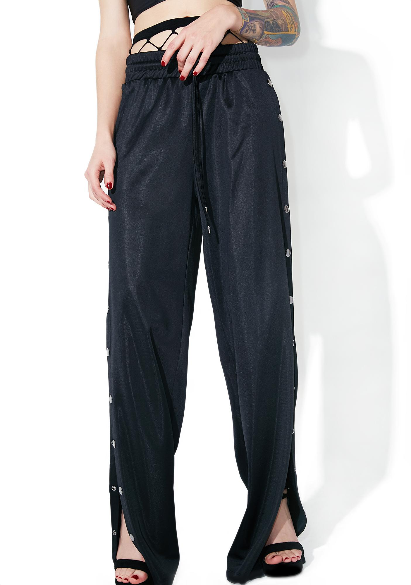 Scary Wannabe Snap Track Pants