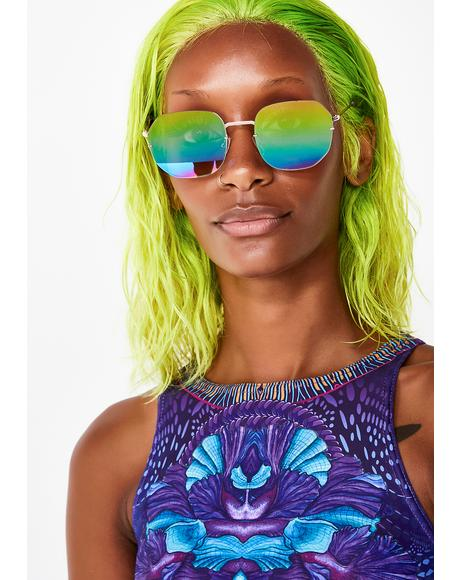 Lexi Iridescent Sunglasses