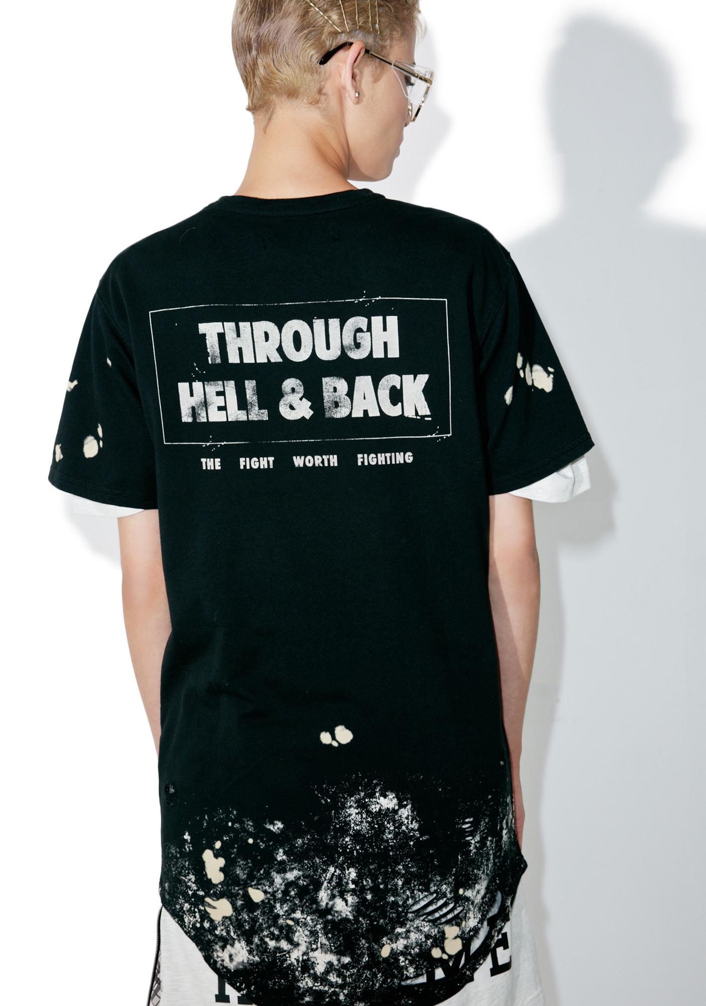 Civil Clothing Through Hell & Back Thrashed Drop Tee