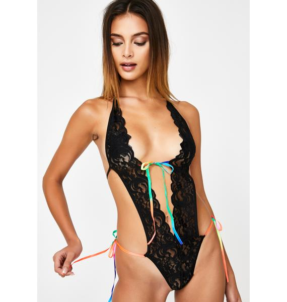 Endless Possibilities Lace Teddy