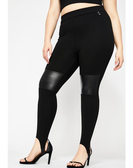 Soo Cocky Fresh Moto Leggings