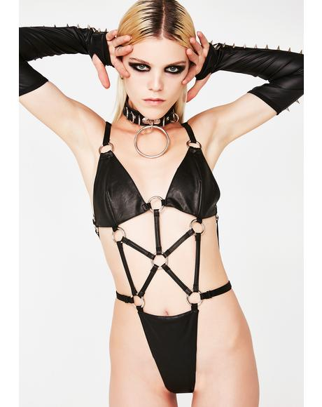Hardcore Strappy Bodysuit