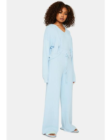 Dozy Dreamer Wide Leg Lounge Pants