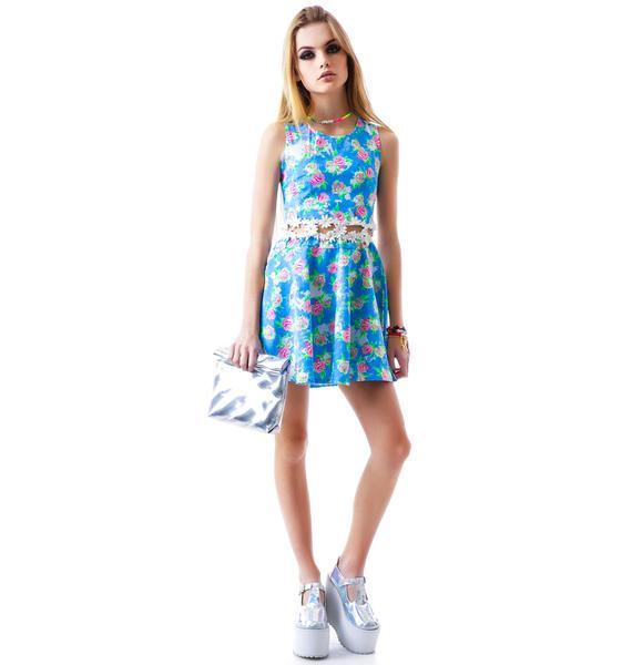 Rosie Floral Midi Dress