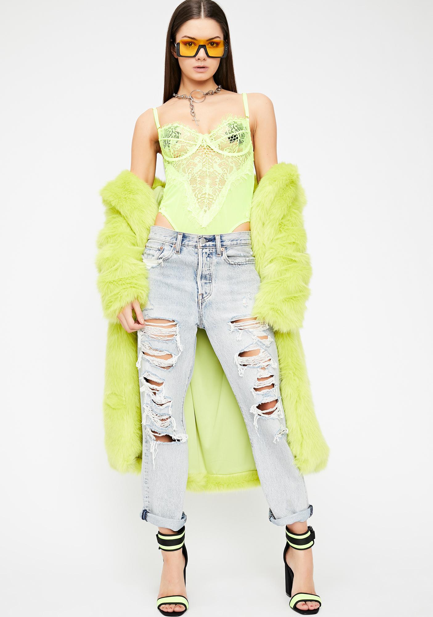 e5630fda83f Neon Allure Lace Bodysuit  Neon Allure Lace Bodysuit ...