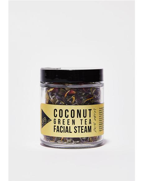 Coconut Green Tea Facial Steam