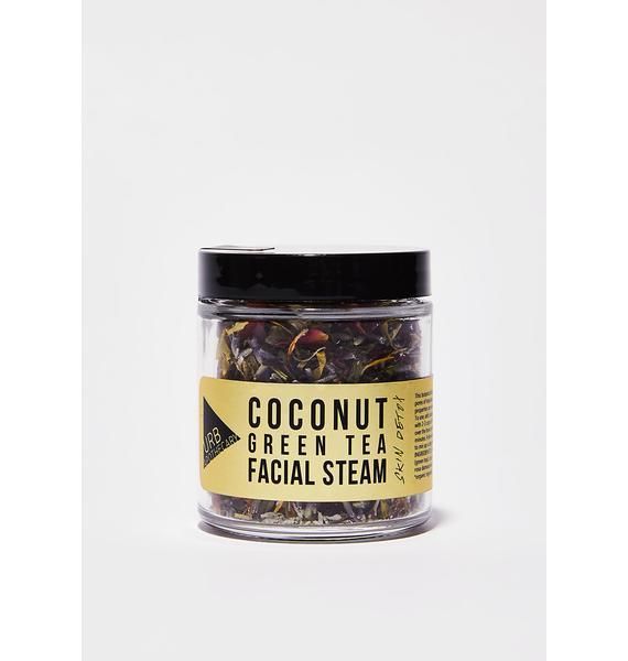 URB APOTHECARY Coconut Green Tea Facial Steam