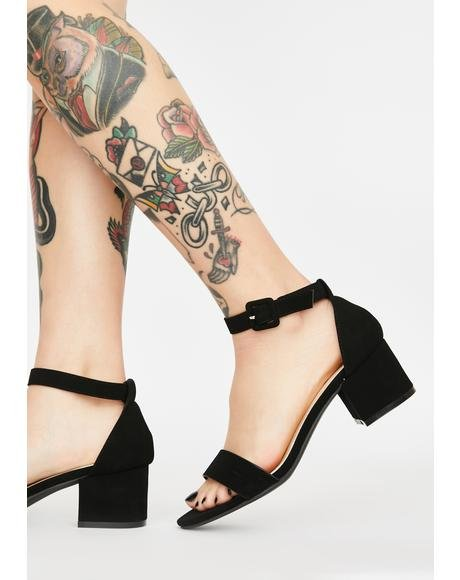 Such A Saint Block Heels