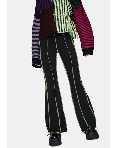 Far Out Paneled Flare Pants