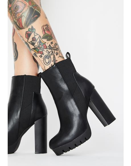 No Surrender Heeled Boots