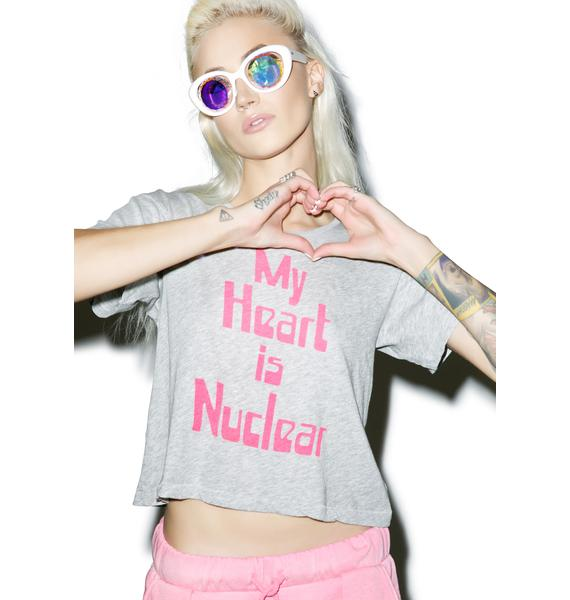Wildfox Couture My Heart Is Nuclear Middie Tee