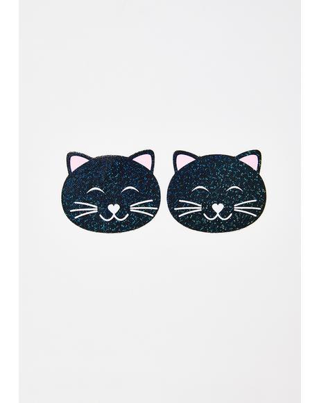 Glitter Cat Pasties